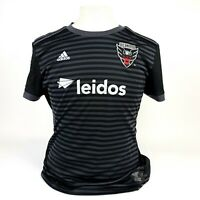 Adidas MLS  Soccer TEAM Jersey DC UNITED Black / Gray/ Red Size XL Men's