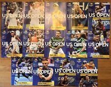 2018 US Open Daily Tennis Magazines - Full Set of 14 Serena Federer Nadal Osaka