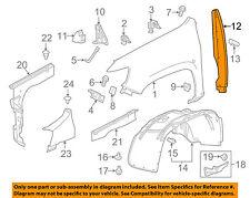 GM OEM Fender-Rear Seal 84205545