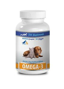 brain health for dogs - OMEGA 3 FOR DOGS AND CATS - omega 3 for dogs capsule