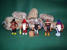 Playmobil ***Rarität*** 5 Zwerge 7849, Zusatz MärchenSet Schneewittchen, o.OVP!