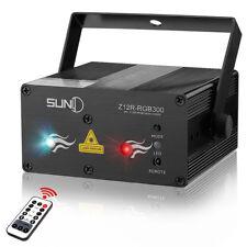 SUNY Full Color RGB Stage Laser Light Red Green Blue LED Lighting Disco Home DJ
