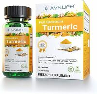 Avalife Full Spectrum Turmeric - High Potency Natural Antioxidants Curcumin