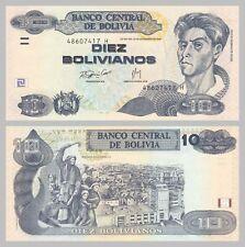 Bolivien / Bolivia 10 Bolivianos 2007 p233 unz.