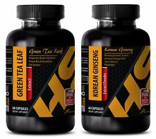 Weight loss herbs and supplements - GREEN TEA EXTRACT – KOREAN GINSENG COMBO