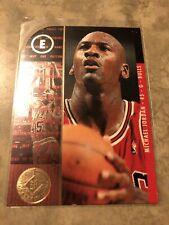 1995-96 SP CHAMPIONSHIP SERIES Michael Jordan #4 Parallel Die Cut Chicago Bulls