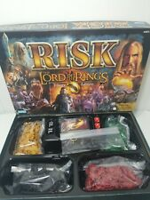 Risk The Lord Of The Rings Trilogy Edition Complete Very Good Condition W/ Ring