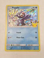 Pokemon Popplio 23/25 HOLO 25th Anniversary Mcdonalds Promo 2021 Card