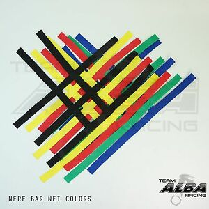 YFZ 450 YFZ450 Nerf Bar Nets for Alba Tusk Rock  Goldspeed  Alba Racing