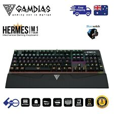Gamdias HERMES M1 7 Colour Mechanical Blue Switch Gaming Keyboard