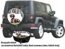 tra l/'altro IDEA REGALO L/'Europa Hirsch SELVAGGINA CACCIA AUTO JEEP ruota di scorta di riferimento per Suzuki