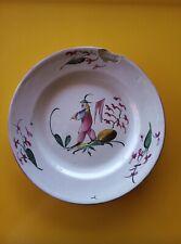 Ancienne assiette faience Est Islettes.Lunéville ? Décor Chinois .Antique plate