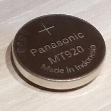 Panasonic MT920 Lithium-Titanium cell for ETA and Casio Solar Powered Watches