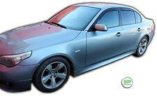 Dbm11132 BMW 5 Series E60 4D Berlina 2004-2010 Deflettori del vento 4pc HEKO COLORATO