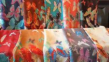 LOTTO 20 PZ Farfalla Design Sciarpa Sciarpe Scialle Wrap all'ingrosso 90x180cm B