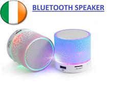 Bluetooth Portable Speaker LED Dancing Music Wireless Stereo SD Card Slot FM