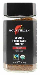 Mount Hagen - Organic Fairtrade Instant Coffee Freeze Dried - 3.53 oz.