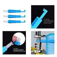 3 Stück Nadel Inserter Stich Einfügen Einfädler Werkzeug zum Nähen Maschine