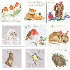 Wrendale Christmas Boxed set of 8 Cards