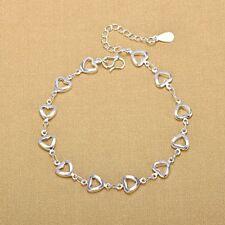 Heart Love Heart Bracelet Anklet Beach Foot Jewelry Foot Hollow
