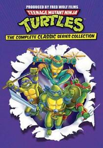 TEENAGE MUTANT NINJA TURTLES: THE COMPLETE CLASSIC SERIES COLLECTION NEW DVD