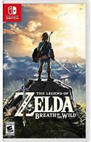 Legend of Zelda: Breath of the Wild - Nintendo Switch (NEW)
