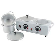 Electric Double Pot Wax Warmer Heater Professional Dual Pro Salon SPA Equipment