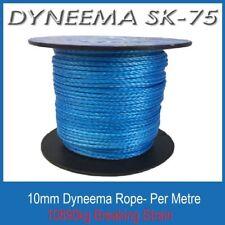 1M 10mm Dyneema SK75 Synthetic Rope - Braid Spectra Yacht 4x4 Trailer Winch
