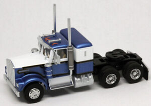 Athearn HO KW Kenworth Owner-Operator Truck Tractor Blue/White ATH92655 CUSTOM