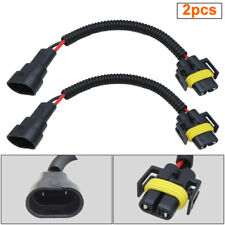 2pcs 9006 to H11 Headlight Fog Lamp Conversion Pigtail Connectors Wiring Harness