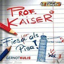 PROF. KAISER Vol. 3: Fieser als Pisa (Gernot Kulis) Audio-CD NEU+OVP