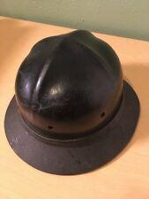 Early 1930s Hardhat Cbm Co. Black Dymond Hard Hat Antique Mine Mining Helmet