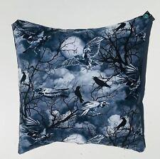 "Raven Cushion Cover Sofa Decorative Trendy Soft  Case 18"" x 18"""