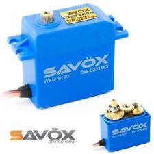 SAVÖX DIGITAL SERVO SW-0231MG CAR , BOOT WATERPROOF IP67 WASSERDICHT 12-15KG