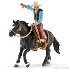 *NEW IN BOX* SCHLEICH 41416 Saddle Bronc Riding with Cowboy Set