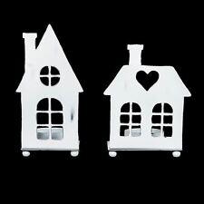 House Metal Candle & Tea Light Holders
