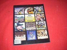 2004 PITTSBURGH STEELERS YEARBOOK