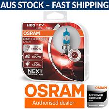 OSRAM Night Breaker Laser (Next Generation) gen 2 HB3 Car Headlight Globes (x2)