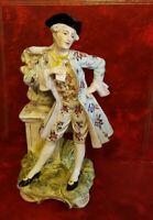 Magnífico Florero Porcelana - 31 CM