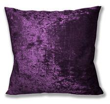 Mv14a Violet Purple Diamond Crushed Velvet Cushion Cover/Pillow Case Custom Size
