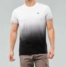 NWT Hollister Men's Short Sleeve Ombre Embroidered Logo Crewneck T-Shirt Medium