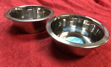 Set Of 2 Kennel Club Stainless Steel Dog Bowl, 27.45 oz. Each- Medium Size