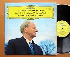 DG 2530 185 Schumann Fantasia Carnaval Wilhelm Kempff 1972 EXCELLENT Stereo LP