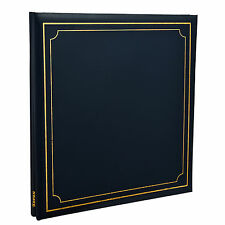 Photo Album Self Adhesiv Blue 32x26cm 24/Sheets 48/Sides By Arpan