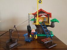 Vintage 1970'S Airfix Weeble Treehouse. Boxed