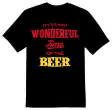 Wonderful Time Of The Beer 2 black or white tee shirt