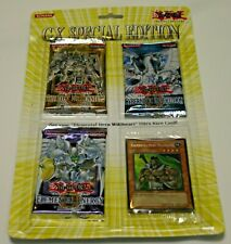YuGiOh GX Special Edition SE pack blister Sealed New English