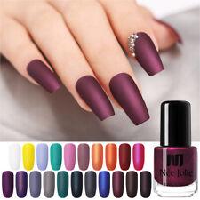 Matting Nail Polish Black  Color Pink Nail Art Oily Varnish NEE JOLIE 3.5ml