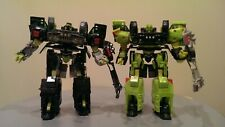 Transformers Movie Voyager Ratchet & HFTD Voyager Night Ops Ratchet Complete