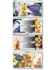 Disney tinkerbell peau vinyle autocollant pour nintendo dsi xl